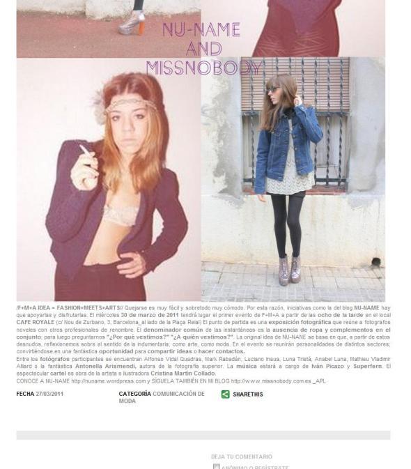 continuación Post en LeLook por Anna Ponsa (Miss Nobody)